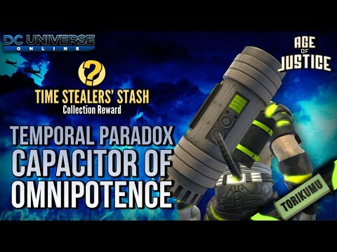 DCUO Episode 28: Temporal Paradox Capacitor of Omnipotence (Time Stealers' Stash Collection Reward)