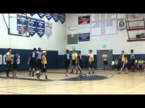 Redlands Adventist Academy Jr. High basketball