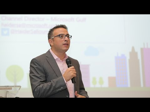 Cloud Computing Workshop Dubai 2015 - Mr. Haidar Salloum's keynote