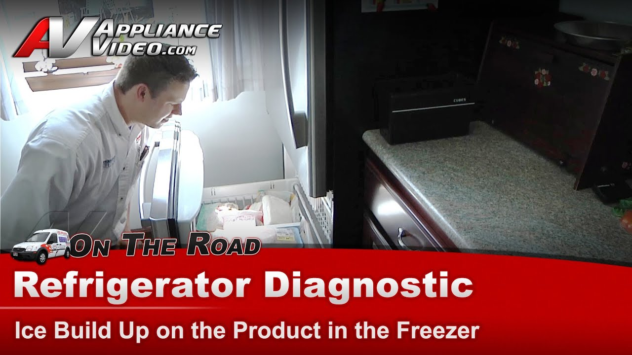Whirlpool Refrigerator Diagnostic  Ice Build Up in the