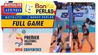 PVL OC 2018: Ateneo-Motolite vs. BanKo-Perlas   Full Game   1st Set   November 10, 2018