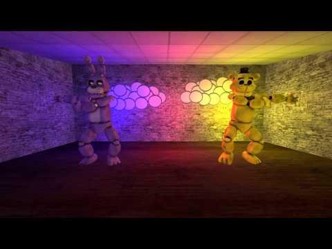 [Sfm Fnaf] Bonnie and Golden Freddy Fusion