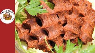 En lezzetli etsiz çiğ köfte tarifi (Adım adım uygulamalı) Mutlaka deneyin