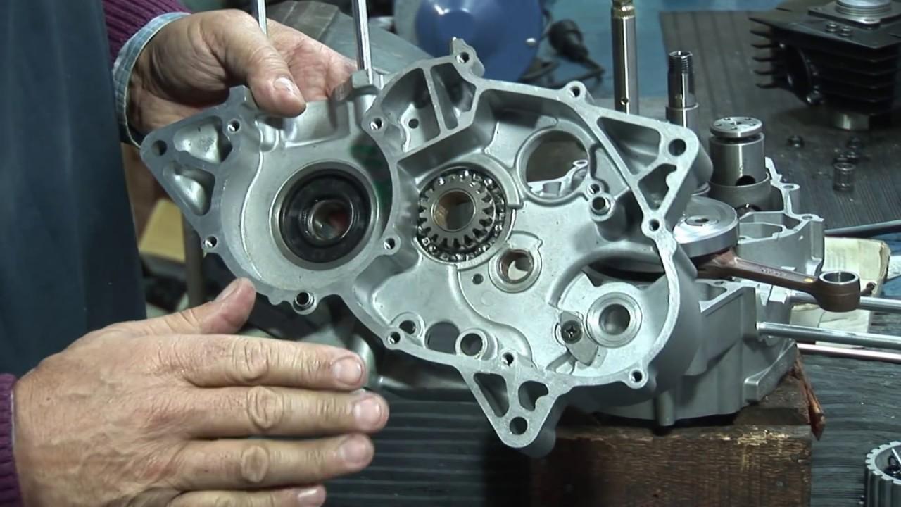 Motor Suzuki AX100 parte 1