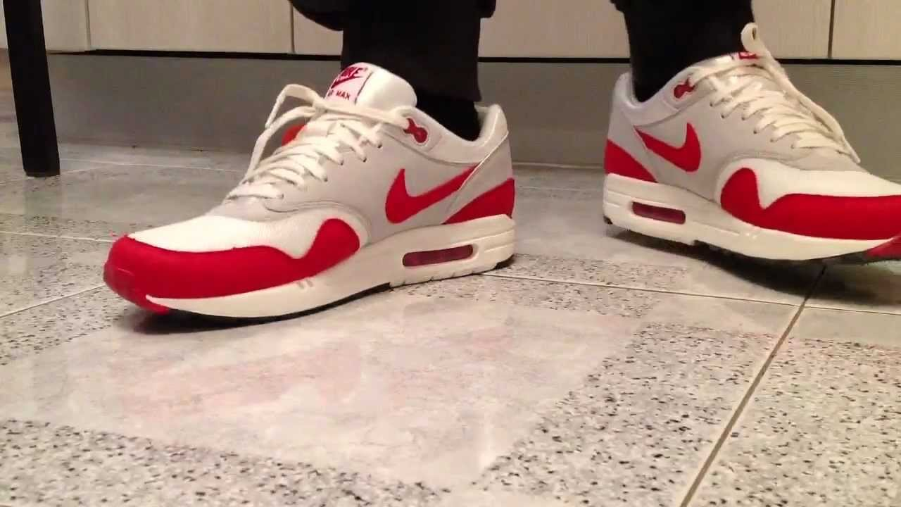 Nike Air Max 1 OG PACK | Sail / University Red - Neutral Grey - Black -  YouTube