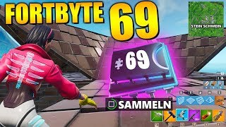 Fortnite Fortbyte 69 🐷 Pig | All Fortbyte Places Season 9 Utopia Skin English