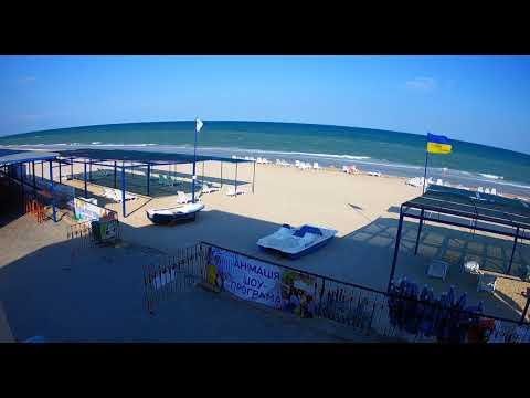3 Июня.  Обзор Пляжей.  Веб-камеры.  Азовское море