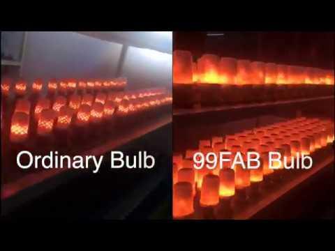 Best LED Flickering Flame Effect Light Bulb Compare | Gravity Sensor  Comparison