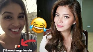 Maine Mendoza Impersonates Angel Locsin! (Instagram Story!)