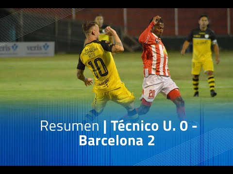 Tecnico U. Barcelona SC Goals And Highlights
