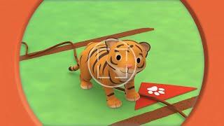 Leo the Wildlife Ranger Minisode #156 - Malayan Tiger