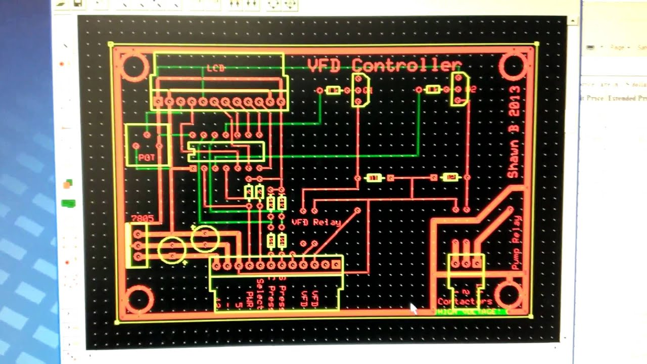 Vfd Controller Update Designed And Ordered A Custom Circuit Board Design Wallpaper On