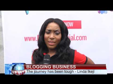 Linda Ikeji '' If You're Successful Come And Take Me To The Altar''