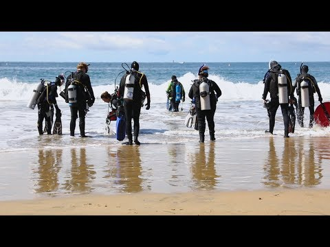Crazy, Awesome Dive Lifestyle | Land & Sea Against Debris Event in Newport Beach, California