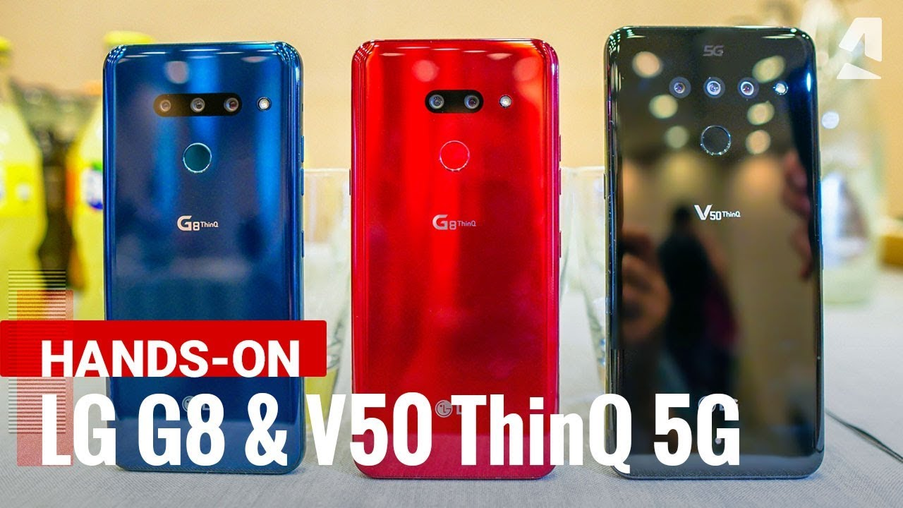 LG G8 ThinQ - Full phone specifications