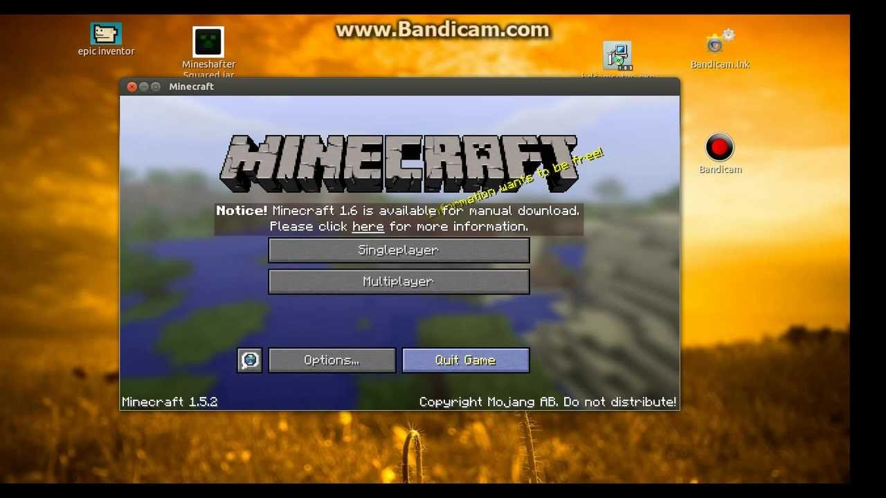 Minecraft- How to login and play as Notch (mineshafter) - YouTube