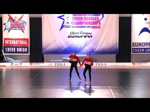 125 JUNIOR DOUBLE CHEER HIP HOP Giorgadze   Menteshashvili GEORGIAN NATIONAL TEAM GEORGIA