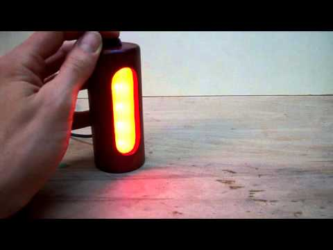 Wooden USB-powered RGB-LED lamp Video 1