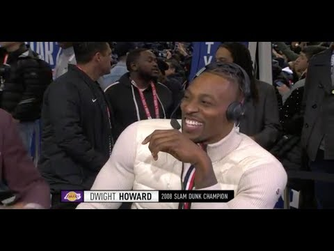 Dwight Howard Talks Return To Dunk Contest, Joining Lakers And More | NBA All-Star 2020 Media Day