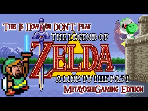 This is How You DON'T Play Link to the Past (MetaYoshiGaming Edition) (50 Sub Special)