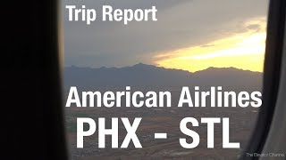 TRIP REPORT - American Airlines (737-800, First Class), Phoenix to St Louis