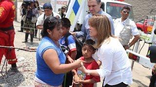 Declaraciones de la ministra Cayetana Aljovín desde Huachipa (RPP TV)