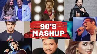 90s Bollywood Songs Mashup   90s Evergreen Bollywood/Hindi Songs   90s Hits Hindi Songs   Kumar Sanu
