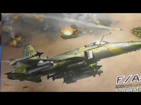 Freedom Models 1/48 F/A-20C Sprue Review