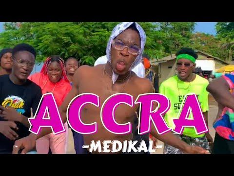 MEDIKAL - Accra (Dance Video) by Championrolie x Dwpacademy