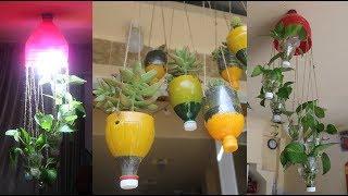 Bộ 2 tái chế chai nhựa mà người làm vườn lỡ quên | Set 2 to recycle plastic bottles,gardeners forgot