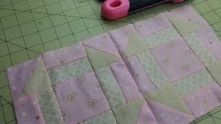 Treinando Patchwork – Parte 1 por Dreams Factory by Jeane