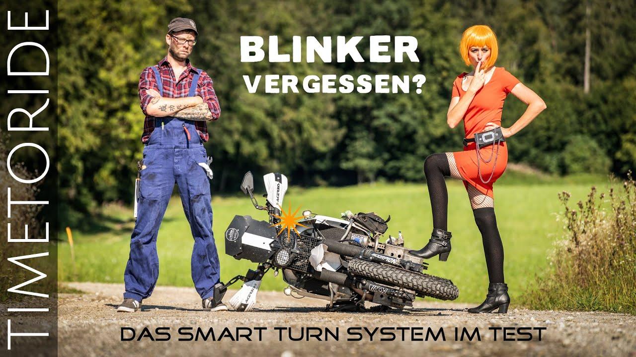 Mehr Sicherheit auf dem Motorrad: Nie wieder den Blinker Ausschalten vergessen - Smart Turn System