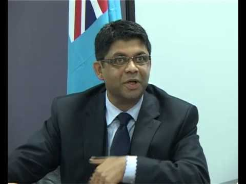Fijian Attorney-General Aiyaz Sayed-Khaiyum, Press Conference on assistance for the 2014 Elections