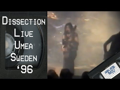 DISSECTION Live in Umea, Sweden January 27 1996 FULL CONCERT
