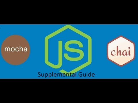 test a node restful api with mocha and chai supplimental