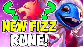 NEW Predator Fizz Rune Page / Build (Secret OP) League Of Legends S9