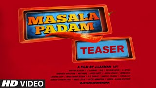 Masala Padam Video Teaser || Mirchi Shiva, Bobby Simha, Gaurav, Lakshmi Devy