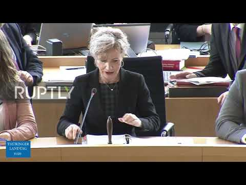 germany:-fdp's-kemmerich-heckled-during-swearing-in-ceremony-amid-afd-controversy