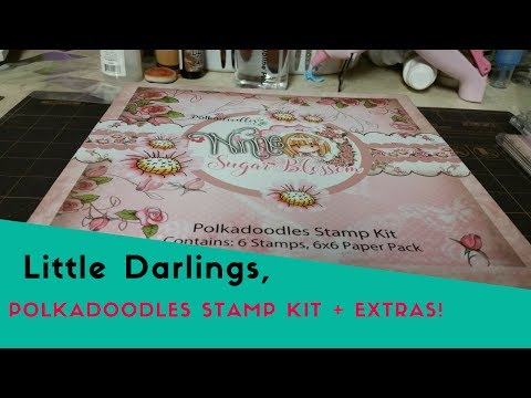 Little Darlings, Polkadoodles Stamp Review + Extras!! LDRS HAUL!