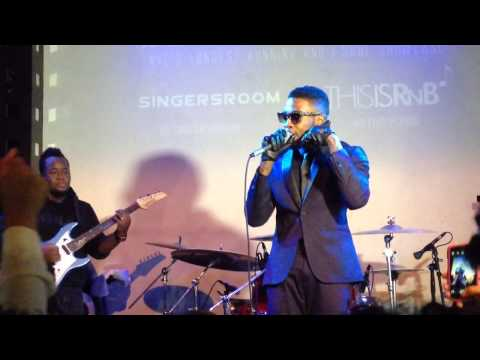 Sammie aka Leigh Bush performs Come With Me  Live at  SOBs for CMJ