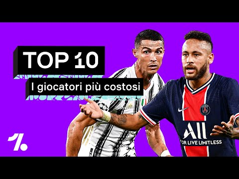 I 10 giocatori più costosi di sempre CR7, Neymar & Co.