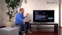 SONY BRAVIA TV - 7 USB Recording / Aufnehmen mit dem TV