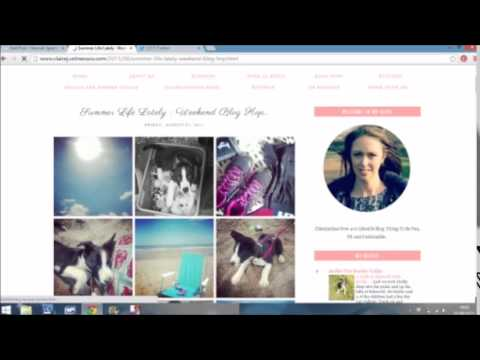 How to join a blog linky or link party