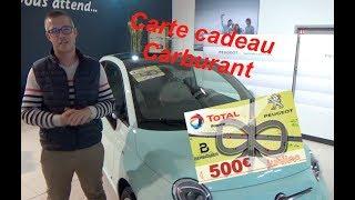 Carte carburant Opération spéciale foire de cavaillon / Peugeot Berbiguier !