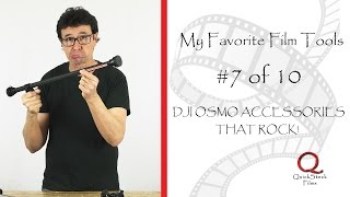 DJI OSMO ACCESSORIES THAT ROCK! - FAVORITE FILM TOOLS 7 OF 10
