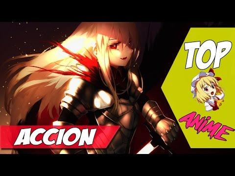 Los 5 mejores animes de Acción y Romance Recomendados | Top 5 en Español | #1 | 2016