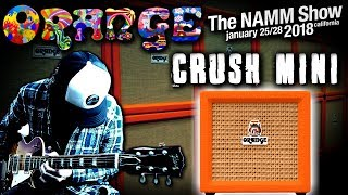 Orange Crush Mini | Review & Demo 2018