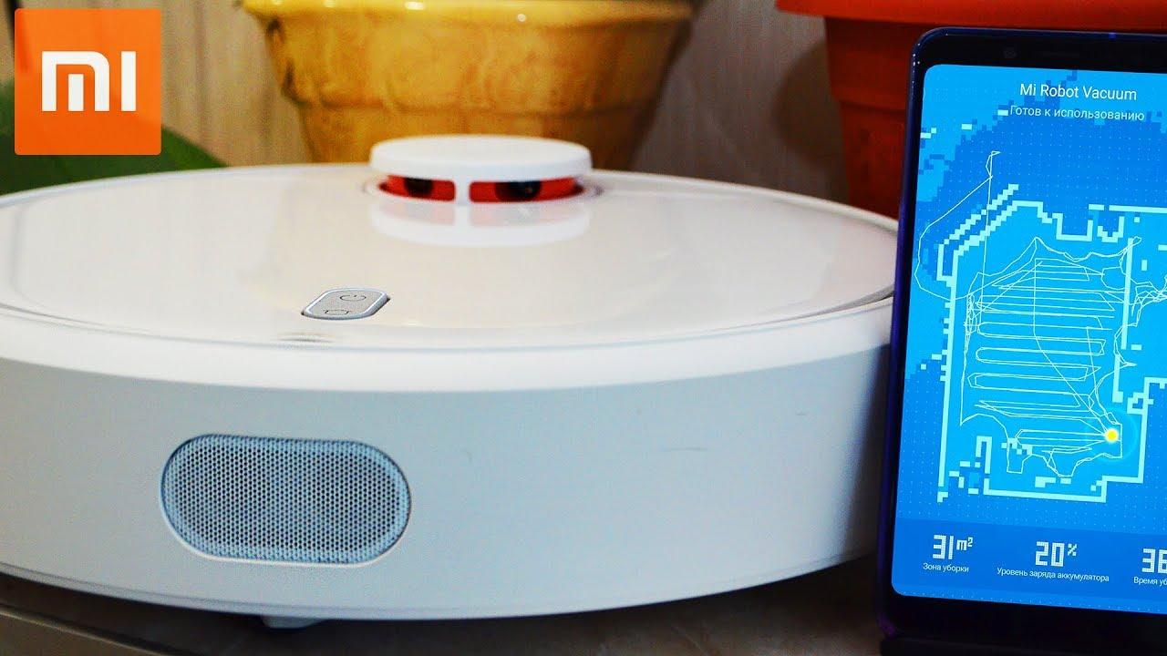 НАКОНЕЦ-ТО! КУПИЛ Пылесос Xiaomi MI ROBOT Vacuum Cleaner.  ОБЗОР
