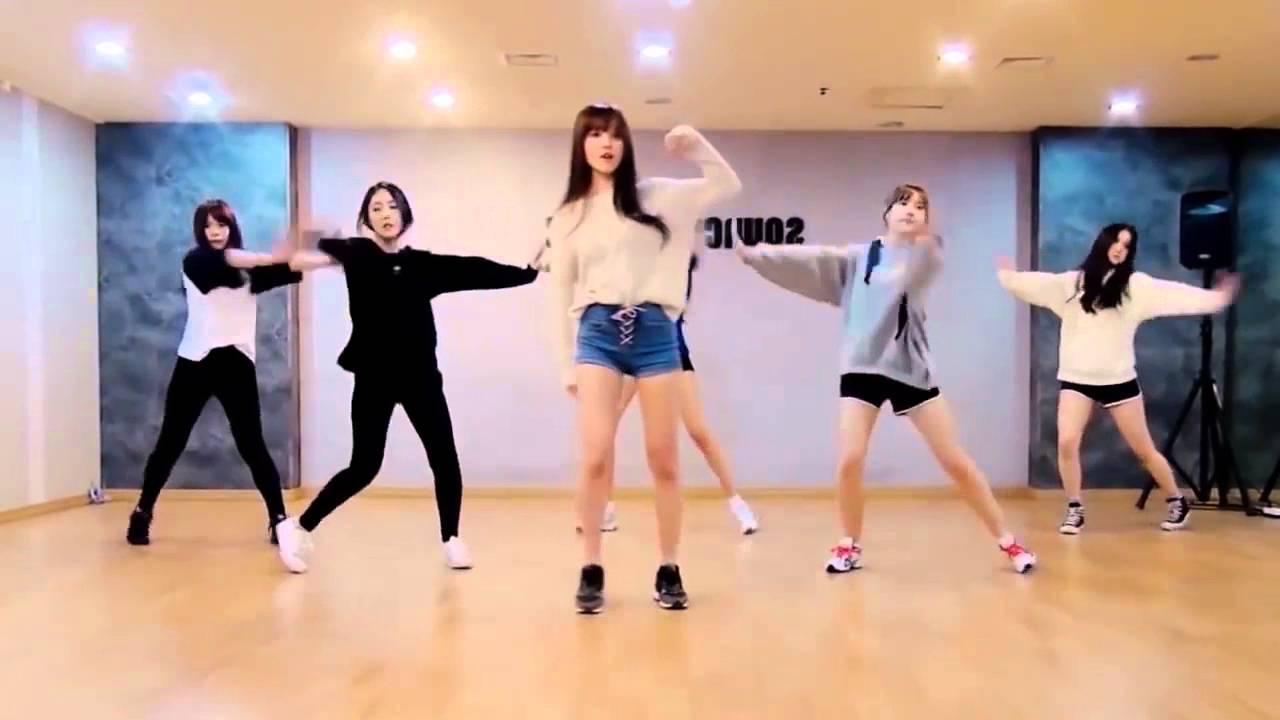 GFriend - Rough Dance Practice Mirrored + Slowed - YouTube
