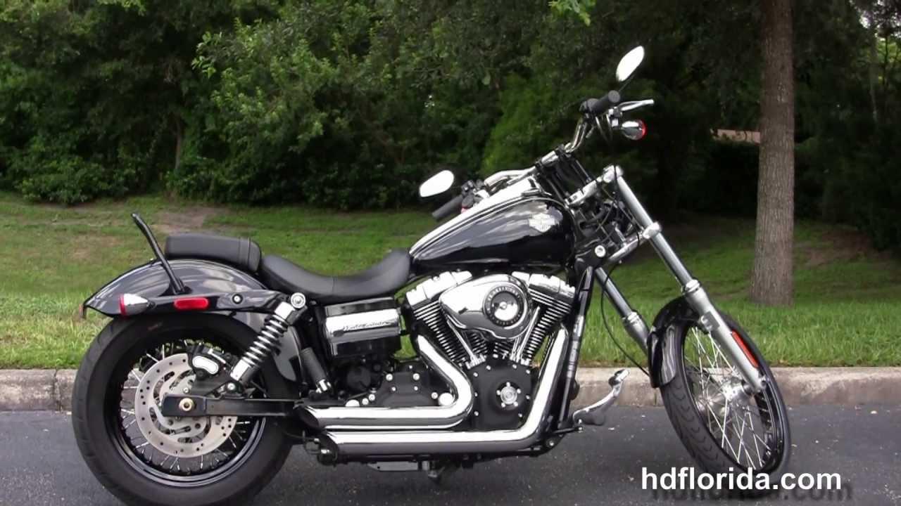 used 2010 harley davidson dyna wide glide motorcycles for sale youtube. Black Bedroom Furniture Sets. Home Design Ideas